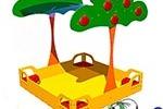 Песочницы и домики для детей – по следам детских сказок!